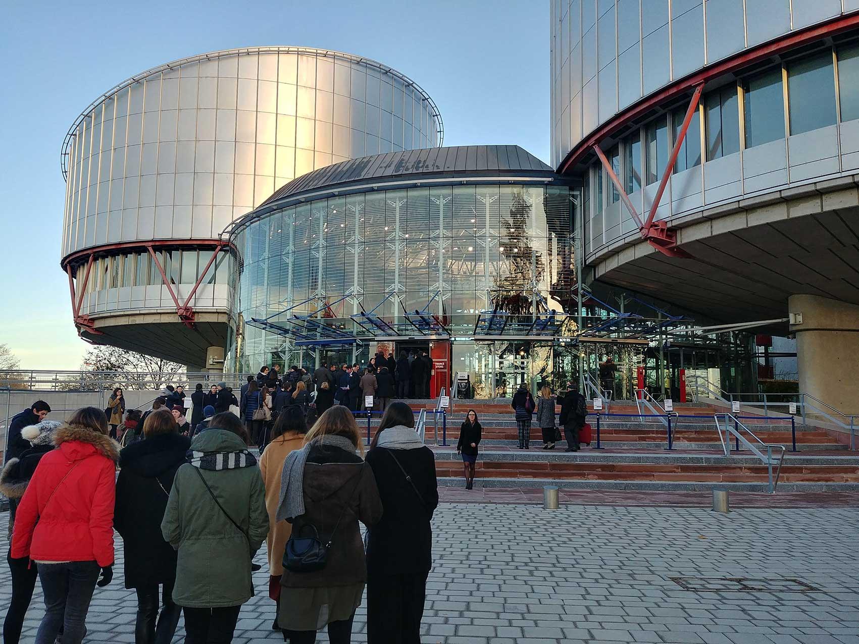 Groupe Study Tour Strasbourg  CEDH 2017